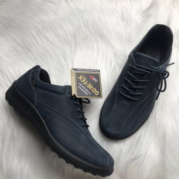 7e4eb4f22e4 Hotter Tone GTX Blue Waterproof Shoes Size 7